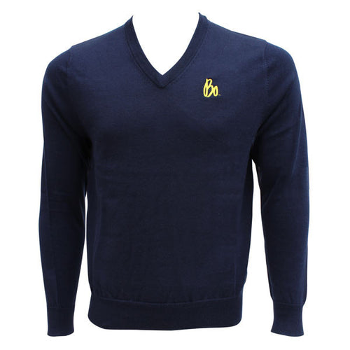 Bo Sig Brooks Brothers V-Neck LS Sweater - Navy