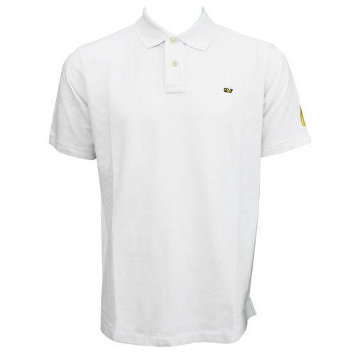 BO Sig Vineyard Vines S/S Classic Pique Polo - White