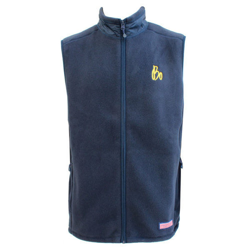 BO Sig Vineyard Vines Fleece Harbor Vest - Navy