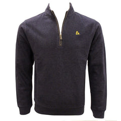 Bo Sig Johnnie-O Devon 1/4 Zip Sweater - Twilight