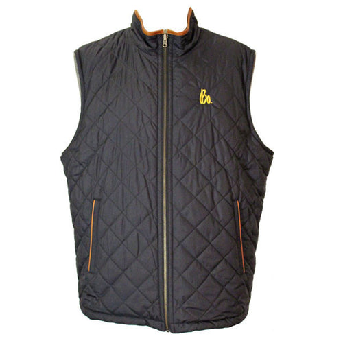 Bo Sig Brooks Brothers Reversible Quilted Vest - Navy/Grey