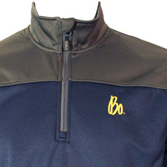 Bo Sig CB Skyridge 1/2 Zip Fleece - Navy/Link