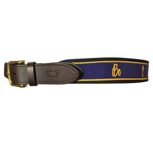 Bo Sig/Sil Vineyard Vines Belt - Navy