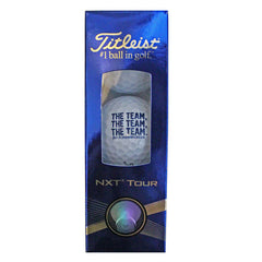 Bo TTT Titlest Nxt Golf Balls - White