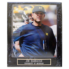 Jim Harbaugh Plaque