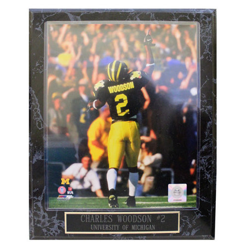 Charles Woodson Plaque