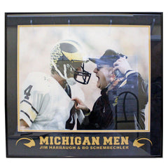 Michigan Men Framed Photo 16x20