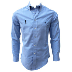 Bo Sil Brooks Brothers Regent Fit Oxford Sport Shirt - Lt. Blue