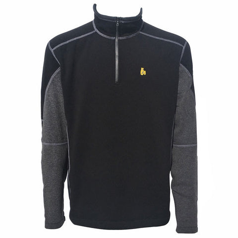 KÜHL Revel 1/4 Zip - Black/Steel