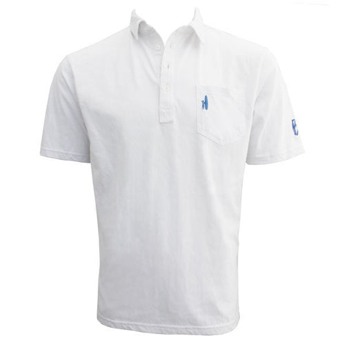 Bo Sig Johnnie-O Pocket Polo - White