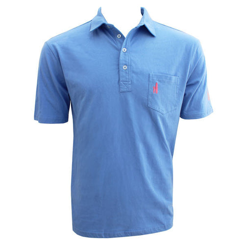 Bo Sig Johnnie-O Pocket Polo - Vista Blue