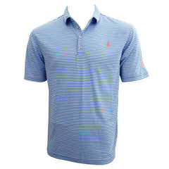 Bo Sig Johnnie-O Striped Polo - Blue/White