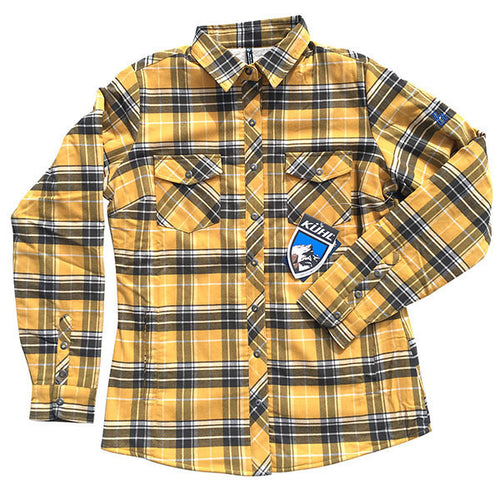 KÜHL Amaya Womens Flannel Long Sleeve- Harvest