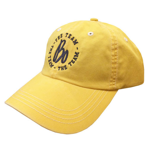 Ahead Pigment Dyed Cap Bo Sig - Yellow/White