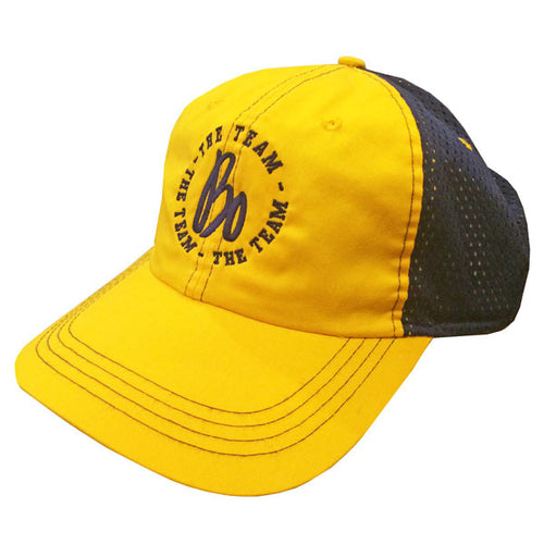 Ahead Two-Tone Dyed Cap Bo Sig - Navy/Yellow