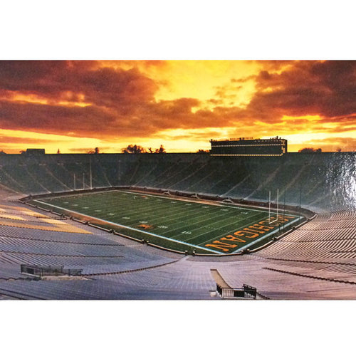 Big House Sunset Postcard
