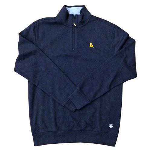 Bo Sig Brooks Brothers 1/2 Zip - Navy