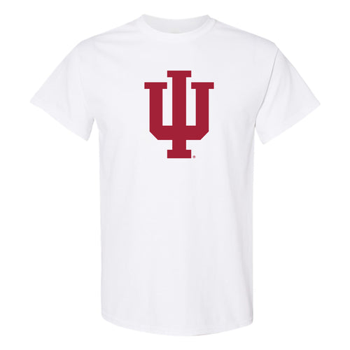Indiana University Hoosiers Trident Shirt Sleeve T-Shirt - White
