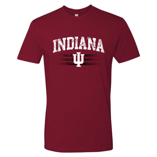 Indiana University Hoosiers Dynasty Logo Short Sleeve T-Shirt - Cardinal