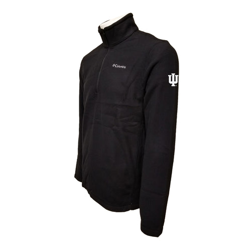 Indiana University Hoosiers Columbia Fleece - Grey Thread - Black