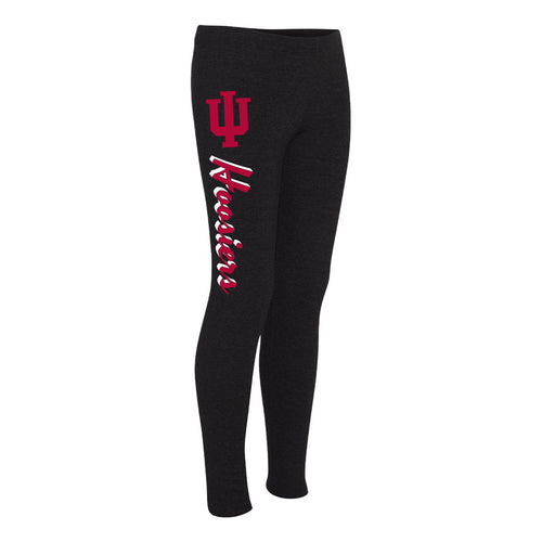 Indiana University Hoosiers Script Leggings - Black
