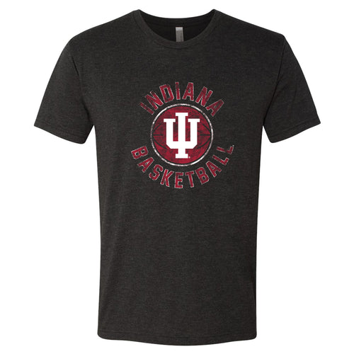 Indiana Basketball Distress - Vintage Black