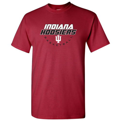 Indiana Basketball Tech T Shirt - Cardinal