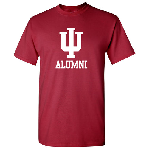 Primary Alumni Indiana Hoosiers Basic Cotton Short Sleeve T Shirt - Cardinal