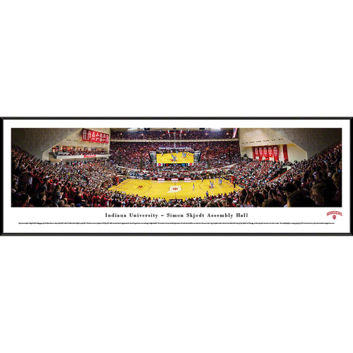 Indiana University Hoosiers Basketball Assembly Hall Panorama - Standard Frame