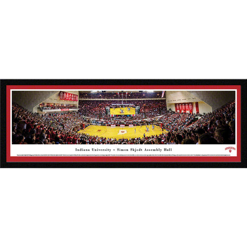 Indiana University Hoosiers Basketball Assembly Hall Panorama - Select Frame