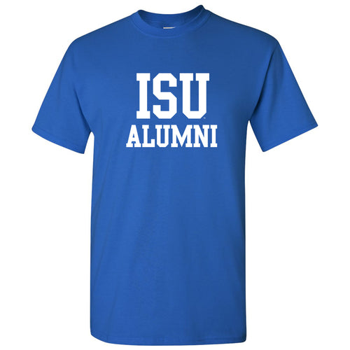 Indiana State Alumni Block T Shirt - Royal