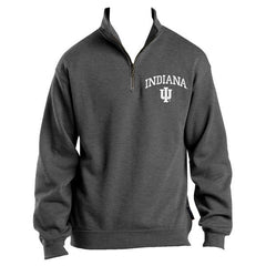 IU Quarter Zip - Grey