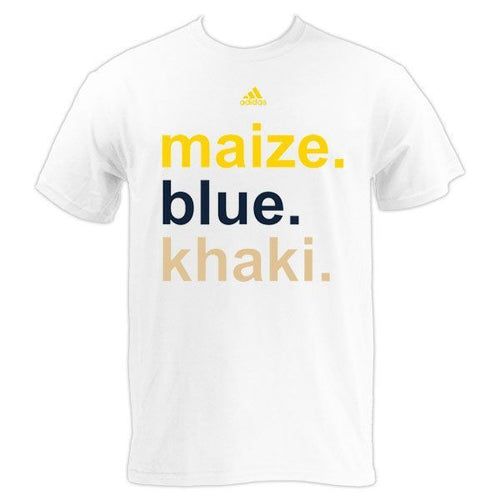 Adidas Maize Blue Khaki - White