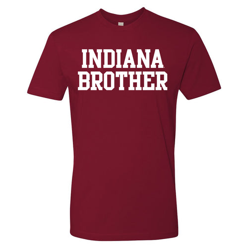 Indiana University Hoosiers Brother Basic Block - Cardinal