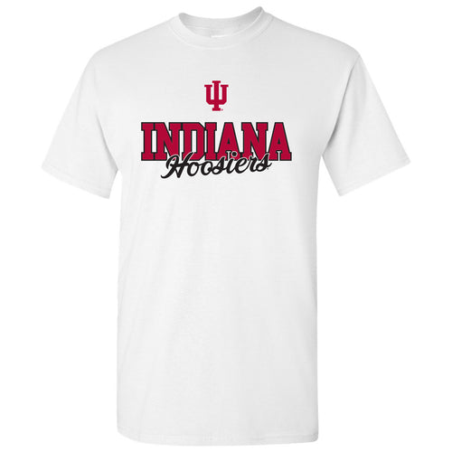 Indiana University Hoosiers Fresh Script - White