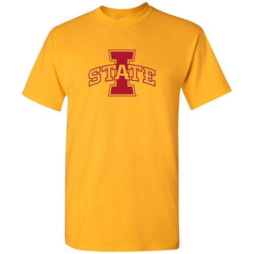 Iowa State University Cyclones Logo T Shirt - Gold