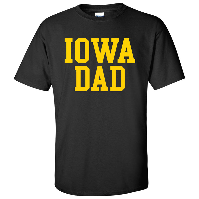 Iowa Dad - Black
