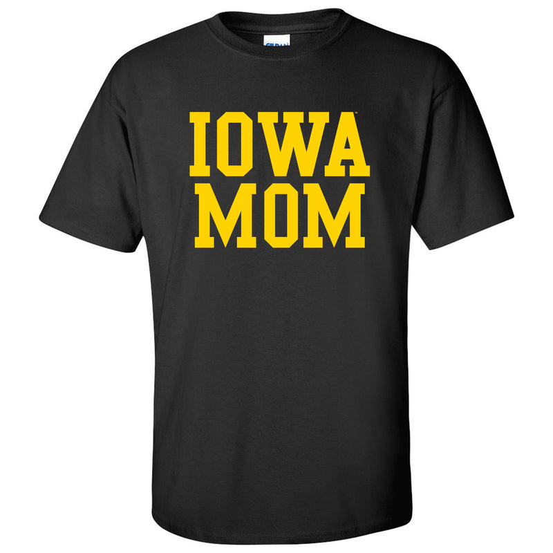 Iowa Mom - Black