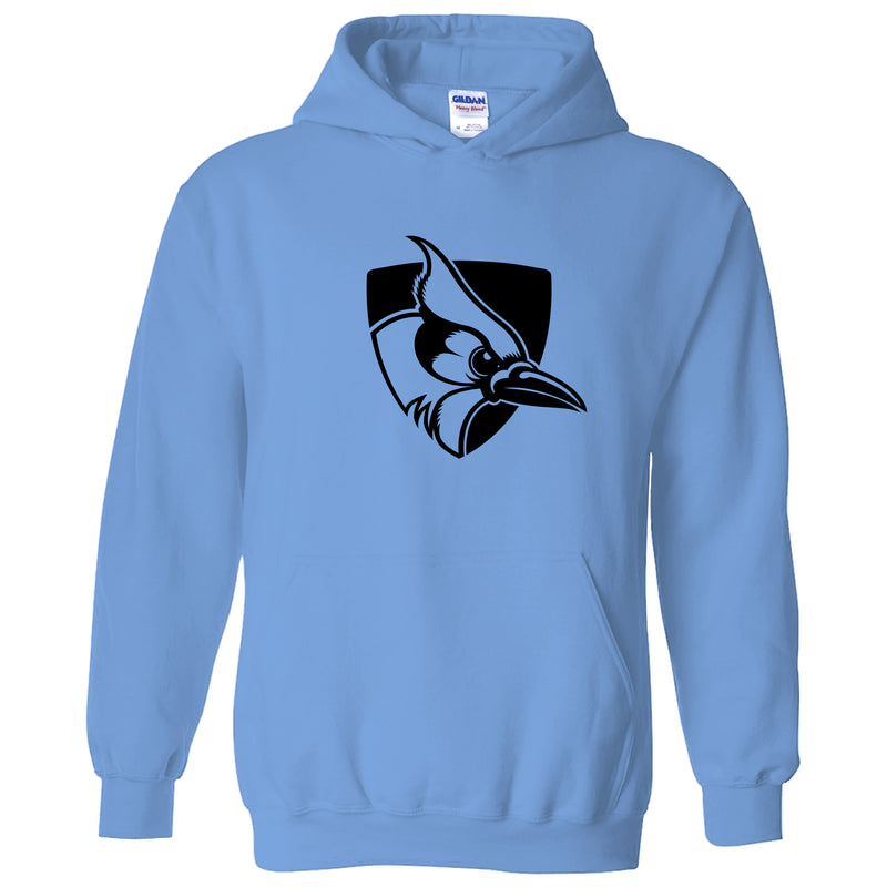 Johns Hopkins University Blue Jays Primary Logo Hoodie - Carolina Blue