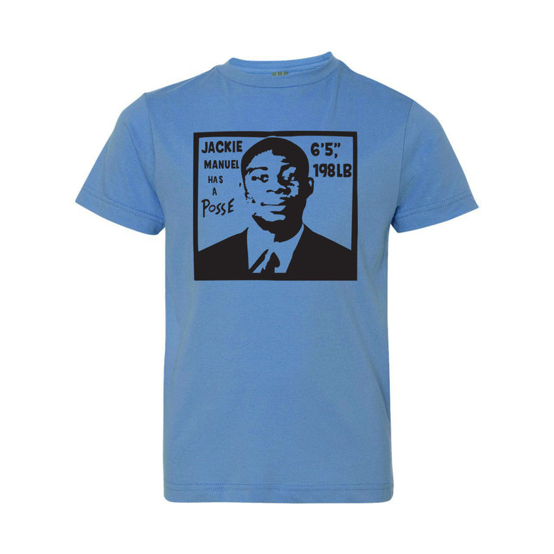 Jackie Manuel Youth Tee - Carolina Blue