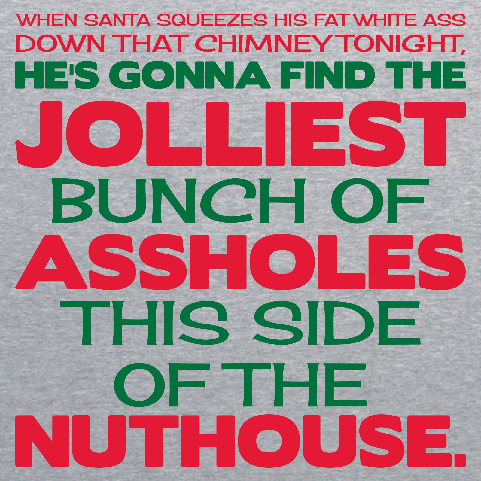 Jolliest Bunch of A-Holes - Christmas Vacation, Movie, Lampoon of Nati