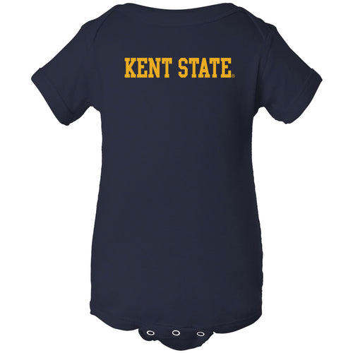 Kent State University Golden Flashes Basic Block Creeper - Navy