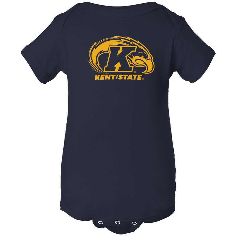 Kent State University Golden Flashes Primary Logo Creeper - Navy