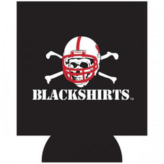 Nebraska Blackshirts Koozie - Black