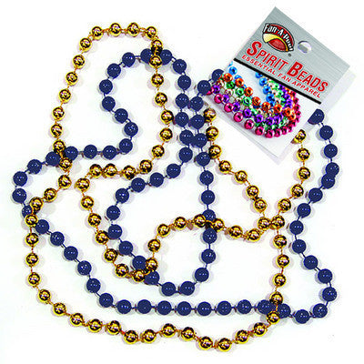 UM Spirit Beads - Navy/Gold
