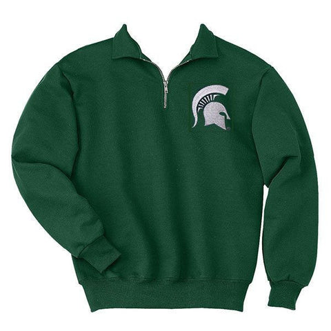 Spartan 1/4 Zip Pullover - Forest Green