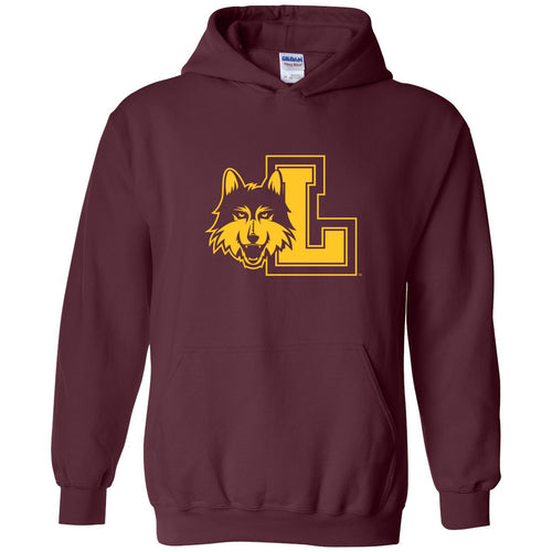 Loyola Chicago Primary Logo Hoodie - Maroon