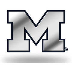 Michigan Block M Car Emblem