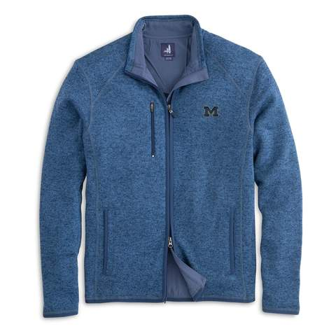 Block M Bo Sig JO Bates Zip Jacket - Lake