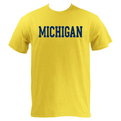 Michigan Basic MVS Short Sleeve - Maize